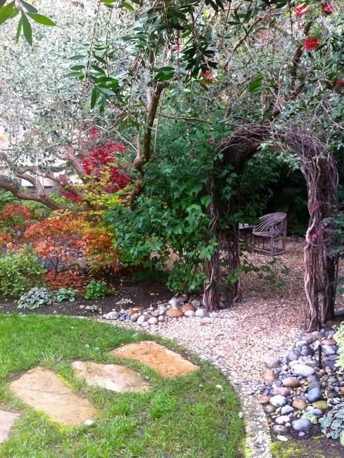 Create Secret Garden Backyard Houzz