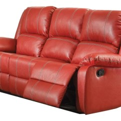 Rosso Red Leather 3 Piece Sofa Set Argos 2 Seater Recliner Ashley Furniture - Thesofa