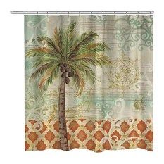 Tropical Shower Curtains Houzz