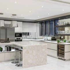 Marble Kitchen Floor Cart Home Depot 75 Most Popular Design Ideas For 2019 Stylish Contemporary Open Concept Designs Example Of A Trendy L Shaped