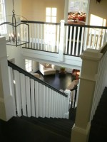 Stair With Box Newels Home Design Ideas, Pictures, Remodel ...