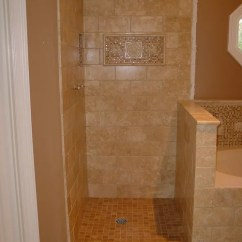 Kitchen Wall Tiles Aid Cabinets Master Bathroom - Travertine Tile Shower, Tub, Floor