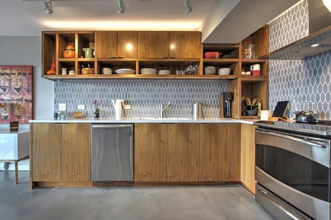 How To Measure The Correct Upper Cabinet Height From Counter