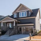 The Trotterville Plan 984  Craftsman  Exterior  Charlotte  by Donald A Gardner Architects