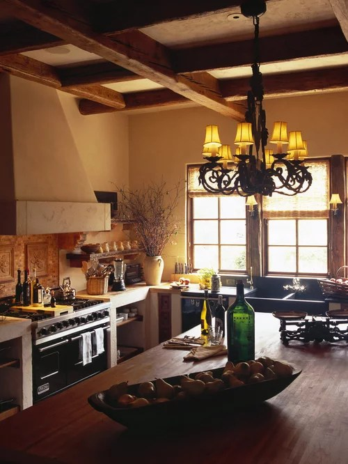 Spanishstyle Kitchen  Houzz
