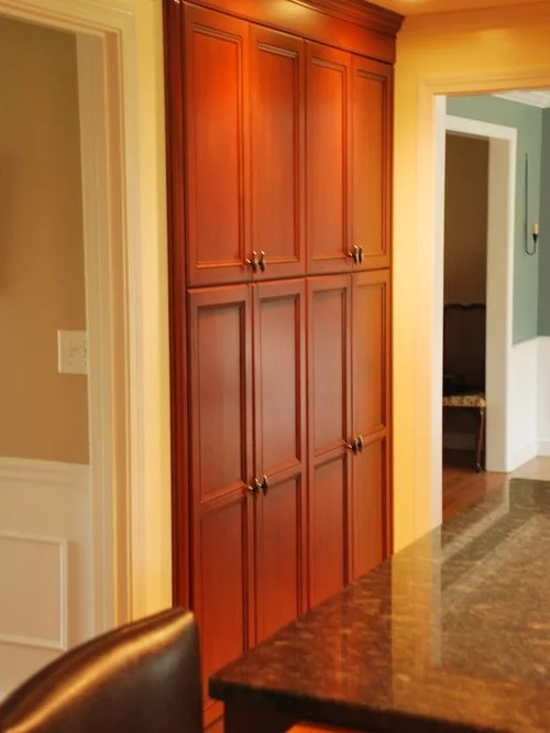 Shallow Pantry Cabinet