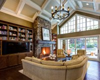 Fireplace Vaulted Ceiling