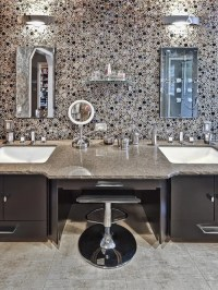 Bubble Glass Tile Ideas, Pictures, Remodel and Decor