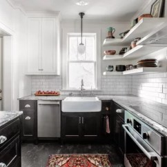 Kitchen Linoleum Prefab Commercial 75 Most Popular Floor Design Ideas For 2019 Small Traditional Enclosed Remodeling Elegant And Black Photo