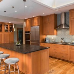Kitchens On A Budget Kitchen Cabinet Accessories Douglas Fir Cabinets | Houzz