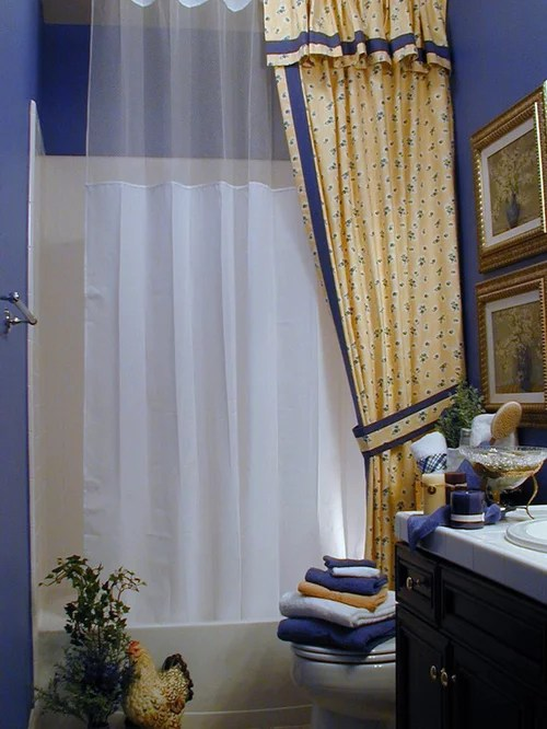 Double Shower Curtain Ideas Pictures Remodel and Decor