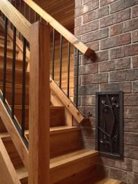 Rustic Minneapolis Staircase Design Ideas, Remodels & Photos