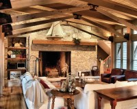 Off Center Fireplace Home Design Ideas, Pictures, Remodel ...