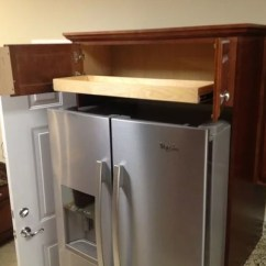 Kitchen Base Cabinet Pull Outs Painting Cabinets Black Above Fridge & Oven Solutions