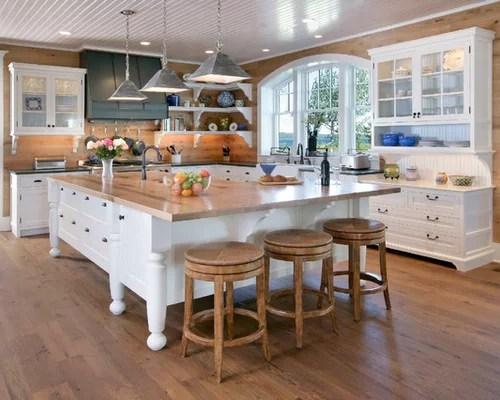 Shaped Kitchen Island