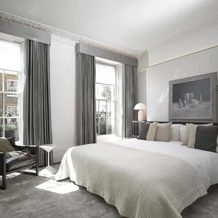 curtains with gray walls