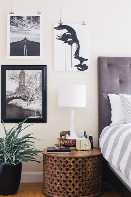 Eclectic Bedroom by Nanette Wong