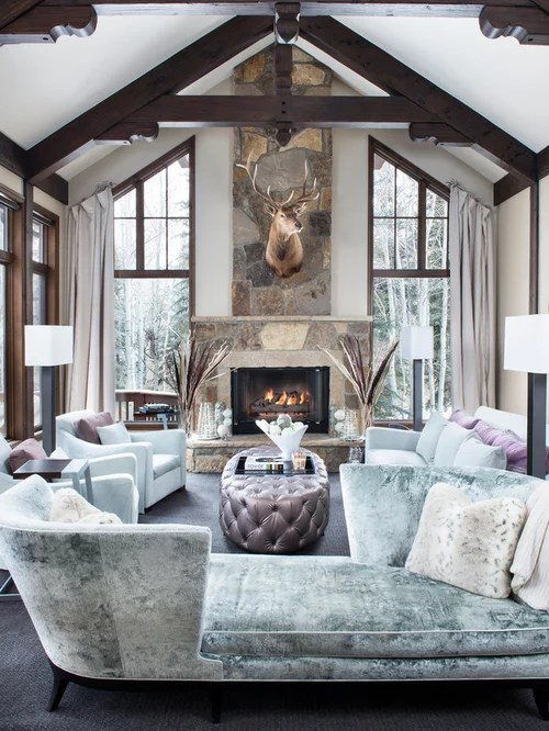 Cathedral Fireplace Design Ideas  Remodel Pictures  Houzz
