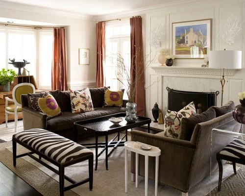 Brown Velvet Sofa Ideas Pictures Remodel and Decor