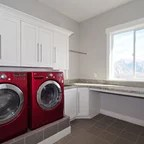 Brentwood Lane Laundry Room Contemporary Laundry Room Indianapolis By Case Design