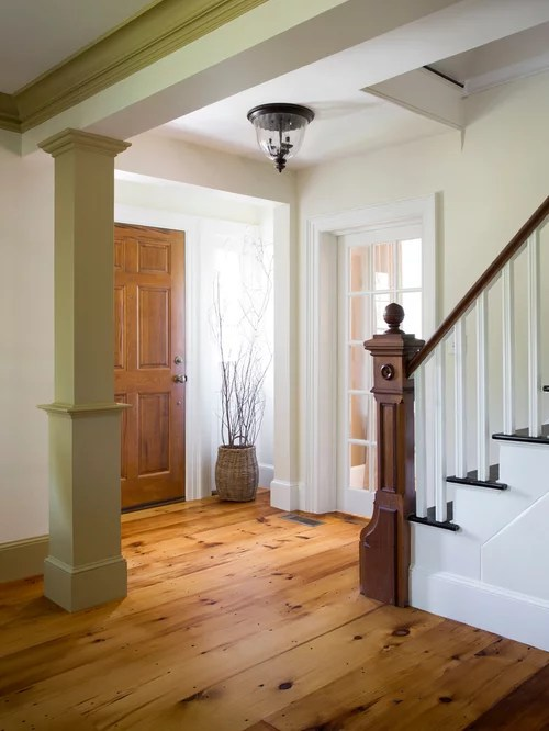Colonial Foyer Home Design Ideas Pictures Remodel and Decor