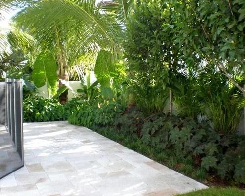 formal tropical garden ideas