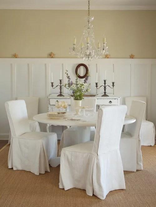 slipcovered living room chairs ikea chair covers ektorp tullsta tall wainscoting   houzz