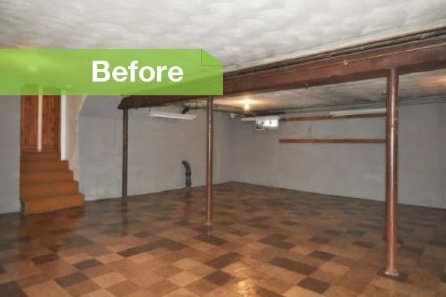 Basement Of The Week: Expanded Living Space On A Budget
