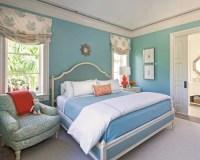 Blue Orange Bedroom | Houzz