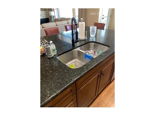 different sink into existing granite