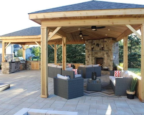 Rustic Ottawa Patio Design Ideas, Remodels & Photos  Houzz