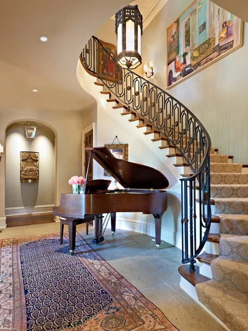 Staircase Carpet Home Design Ideas Pictures Remodel and Decor