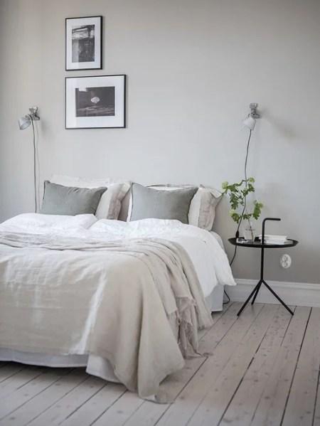 scandinavian bedroom design grey Scandinavian Grey Bedroom Design Ideas, Renovations & Photos