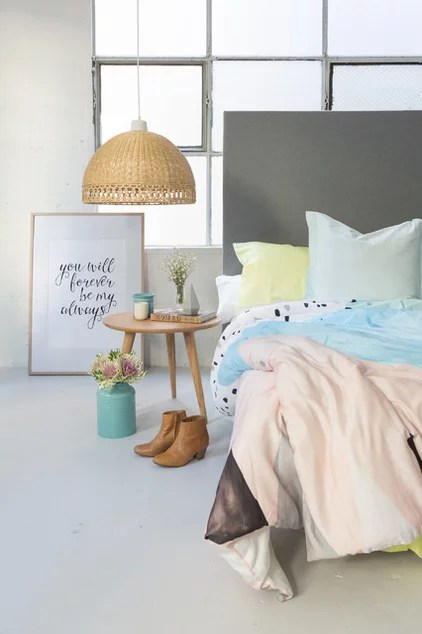 Contemporary Bedroom by The Eclectic Creative Studio
