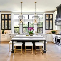 Kitchen Black Cabinets Play Kitchens For Kids 75 Most Popular With Design Ideas 2019 Transitional Remodeling Example Of A U Shaped Light Wood Floor And Beige