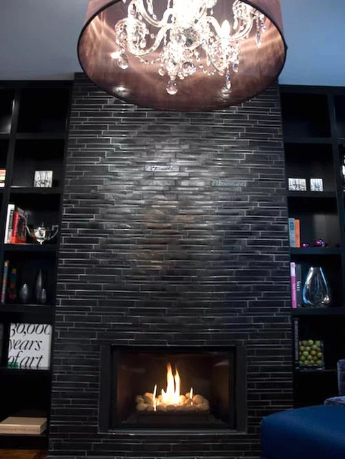 furniture placement living room fireplace tv light paint colors black stone | houzz