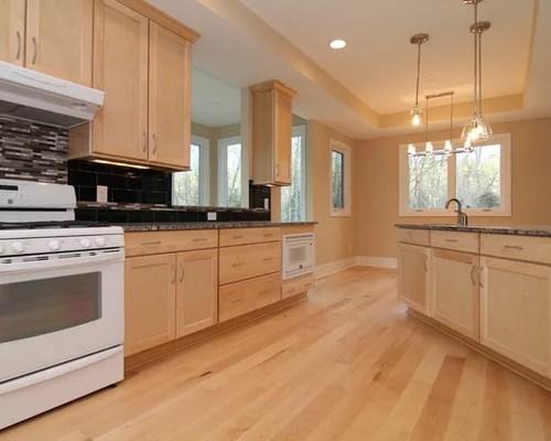 natural maple kitchen cabinets faucet repair kit white appliances | houzz