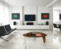 2,000 Living Room with Marble Flooring Design Ideas ...