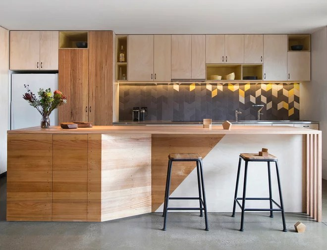 Contemporary Kitchen by Breathe Architecture