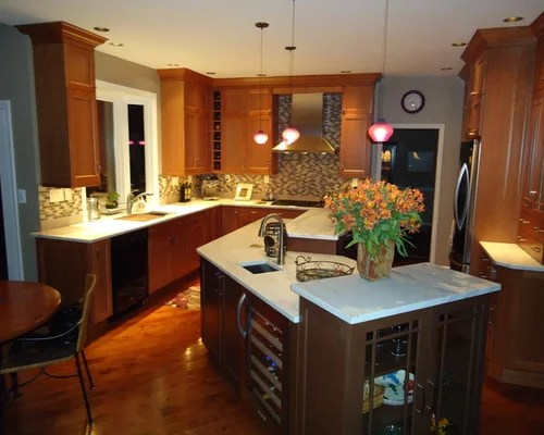 Angled Kitchen Island Ideas Pictures Remodel And Decor