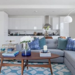 Gray Blue Living Room Ideas On Decorating A Small How To Combine And In Your