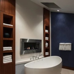 Design Living Room With Fireplace And Tv The Church Barbados Wall Mount | Houzz