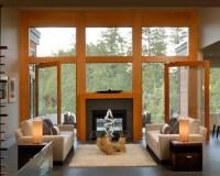 Indoor Outdoor Fireplace | Houzz