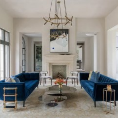 Small Living Room Sofa Color Navy Blue Colour Schemes And Ideas To Go With Your Country By Bankston May Associates