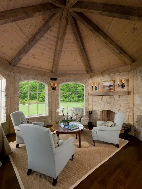 traditional living room furniture ideas glass table for octagon | houzz