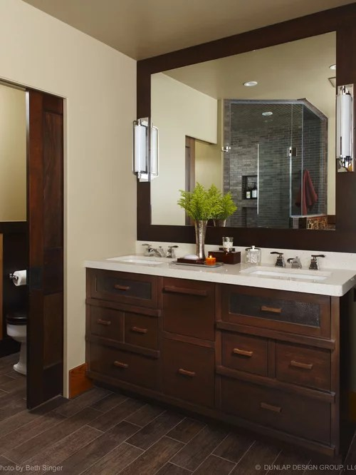 Dark Cabinets With Tile Floor Ideas Pictures Remodel And Decor