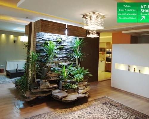 interior landscape of dolat residence