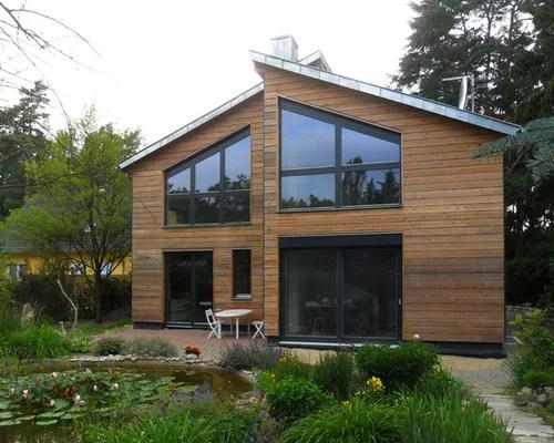 Rustikale Häuser Und Fassaden Mit Pultdach Ideen Für Die