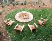 In-ground Fire Pit | Houzz