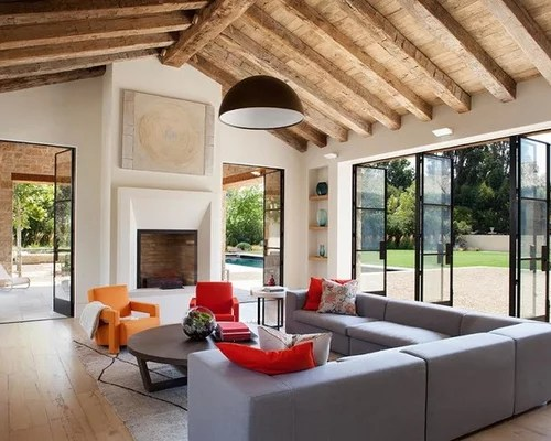 Wood Vaulted Ceiling Home Design Ideas Pictures Remodel and Decor